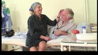 Granny watches grandad bonks nurse in hospital