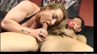 Eroticmusclevideos brandimaes muscle serf part 1