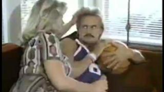 Lyn cuddles malone, dan roberts, joey silvera in classic sex movie
