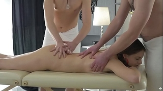 Double permeated by excited masseurs