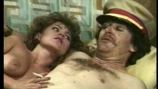 Alexis greco, bambi allen, crystal breeze in vintage porn scene