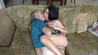 Old chaps love fucking nubiles
