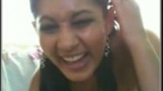 Desi indian hawt hottie on web camera get to watch