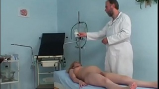 Pregnant cute BBC slut riding her gynaecologist's hard prick