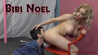 Hot stripper bibi noel and her butt worship thrall