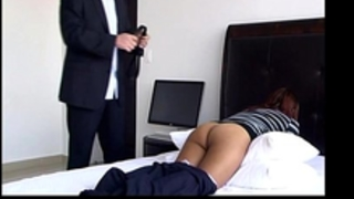 Punishment with a thong - greater quantity @ www.free-extreme.com