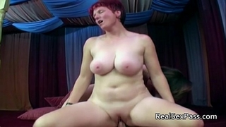 Two plump matures pleasant one guy