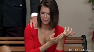 Brazzers - taylor sands receives her pipes cleaned
