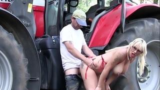 Monicamilf big O in dark stockings - sexy norwegian porn