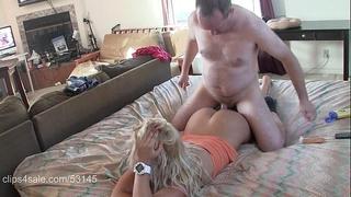 Sexy blond massaged and creampied hd