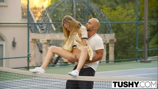 Tushy 1st anal for tennis student aubrey star
