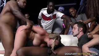 Brooke wylde acquires team-fucked in a club