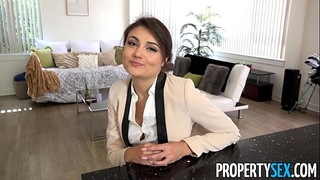 Propertysex - ridiculously handsome real estate agent copulates her ex boyfriend