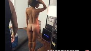 Rihanna naked and rude guy