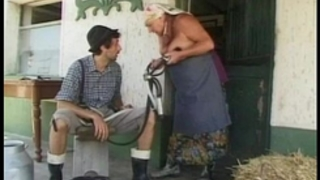 Chubby granny acquires a biggest load