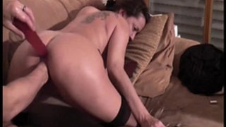 Horny non-professional girl can't live without fisting orgasms