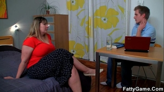 Hot fatty gives a unfathomable mouth