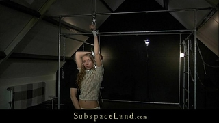 Curly virginal golden-haired mary fantasy hard s&m training