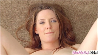 Give me pink british redhead stretches her arse with toys