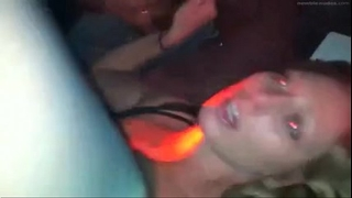 Swinger slutwife dilettante interracial bang with a lot of cum