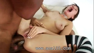 Brutal arsehole group sex of backdoor acrobat