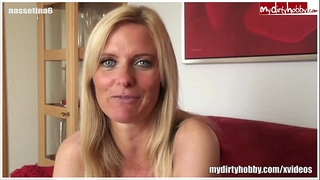 Sexy german milf gives a great oral job
