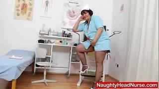 Smiling madame nurse