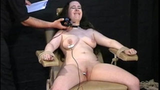 Electro tortured bbw in harsh stool servitude and severe suffering of plump thrall