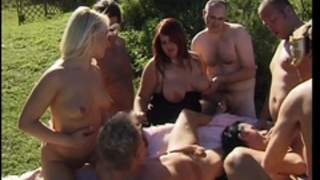 Swingers bang sex fuckfest