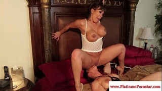 Ava devine and brandi mae take up with the tongue twat