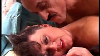 Sexy old spunker in nylons debella enjoys a facial jizz flow