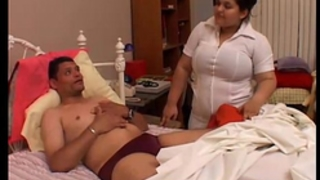 Bubbly large melons bbw playgirl karla is a nasty nurse
