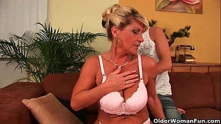 Grandma needs a cum load this day