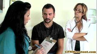 Cfnm nurse mason moore acquires some goo