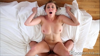 Passion-hd fellow comes home to his girlfriend willing to engulf
