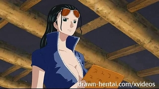 One piece anime - nico robin