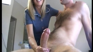 Blonde milf loves biggest weenies