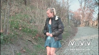 Mmv films german legal age teenager receives picked up and drilled