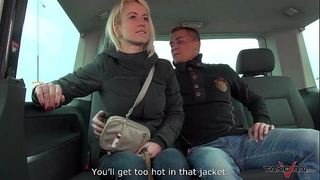 Cheating breasty girl copulates a stranger in traffic & mea melone record it
