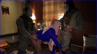 Tour of wazoo - local working arab black cock sluts entertains soldiers for some elementary cash
