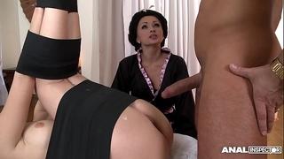 Japanese sort anal three-some with geishas ivana sugar and alice