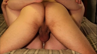 Four hardcore non-professional creampie copulates & eight intensive orgasms