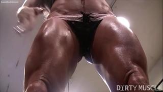 Naked female bodybuilder ashlee chambers hawt workout