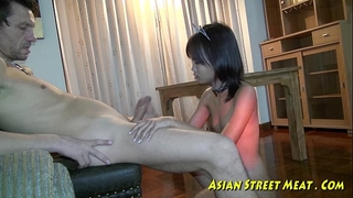Small tittie thai white wife buggered up botty