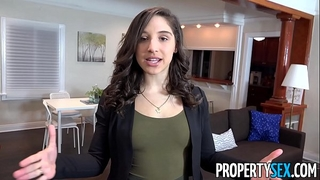 Propertysex - college student fucks hawt wazoo real estate agent