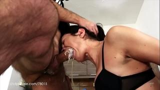 Valentina bianco - dirty slut at work (uncensored milk vomit)