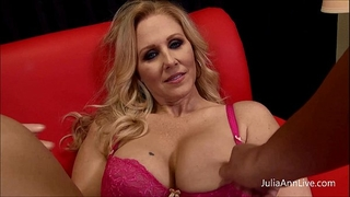 Milf julia ann can't live without to engulf pecker!
