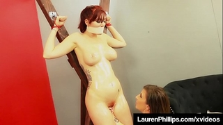 Ginger bush lauren phillips acquires punished by milf sara jay!