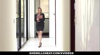 Shewillcheat - lewd real estate agent bonks bbc