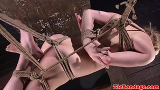 Sub gstring and hog fastened for slit whipping